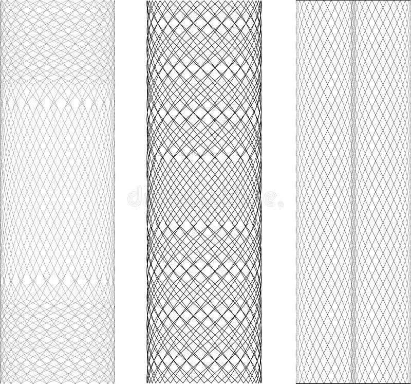 Ingewikkelde ontwerpen vector illustratie