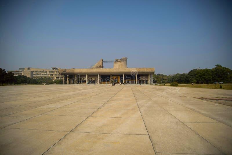 Ingewikkeldheid en asymmetrie in Vijay Vilas Palace, Bhuj royalty-vrije stock foto