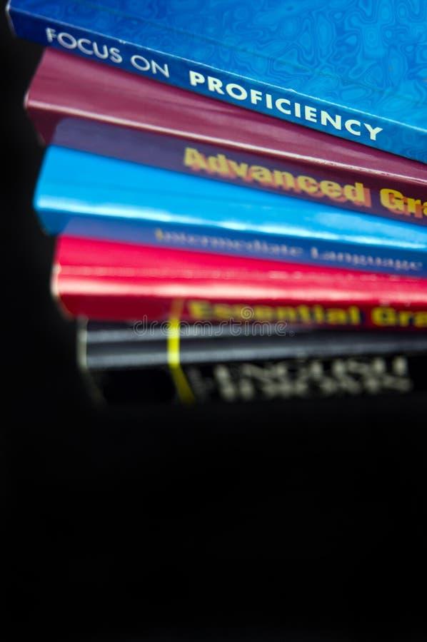 Inglés que aprende niveles imagenes de archivo