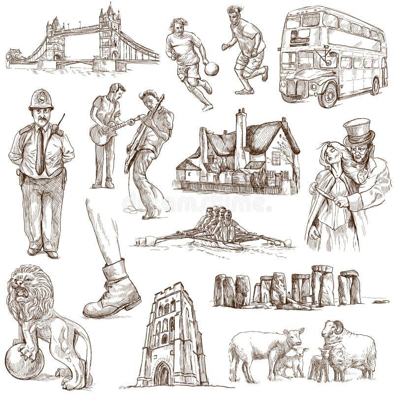 Inglaterra - 1 ilustración del vector