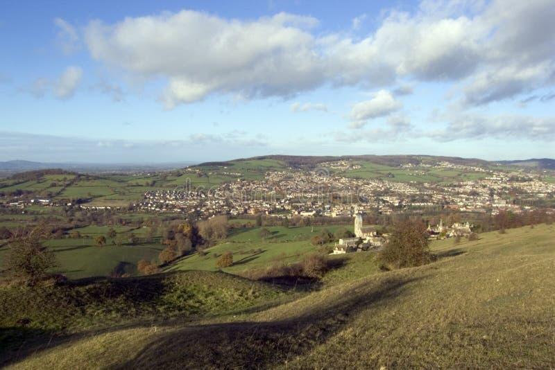 Inglaterra, Cotswolds, vales de Stroud fotografia de stock royalty free
