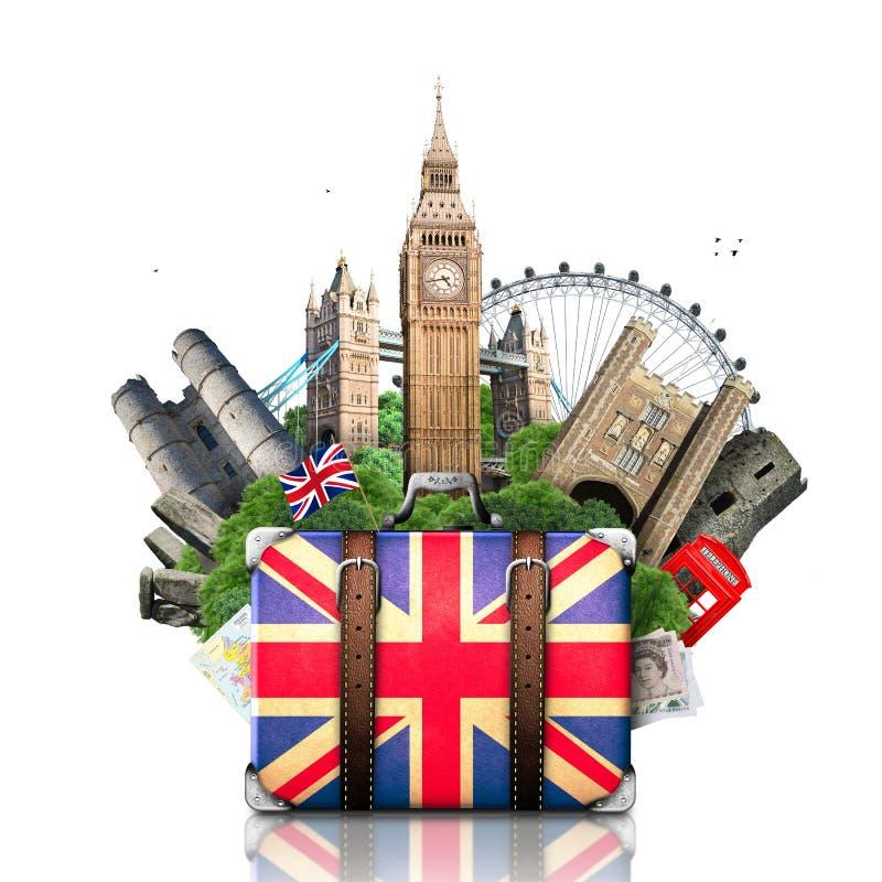 Inglaterra, señales británicas fotografía de archivo