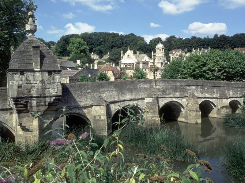 Inglaterra, Wiltshire, Bradford-en-Avon imagen de archivo libre de regalías