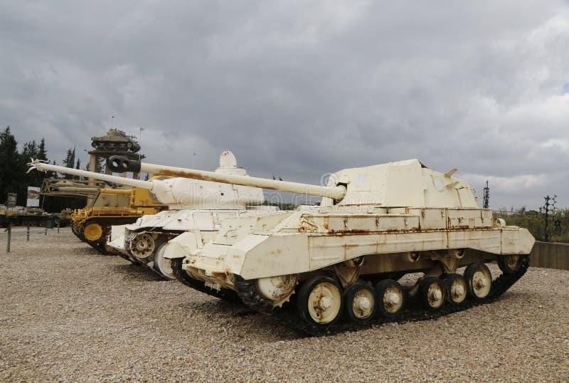 Ingleses Archer Tank Destroyer na exposição fotos de stock royalty free