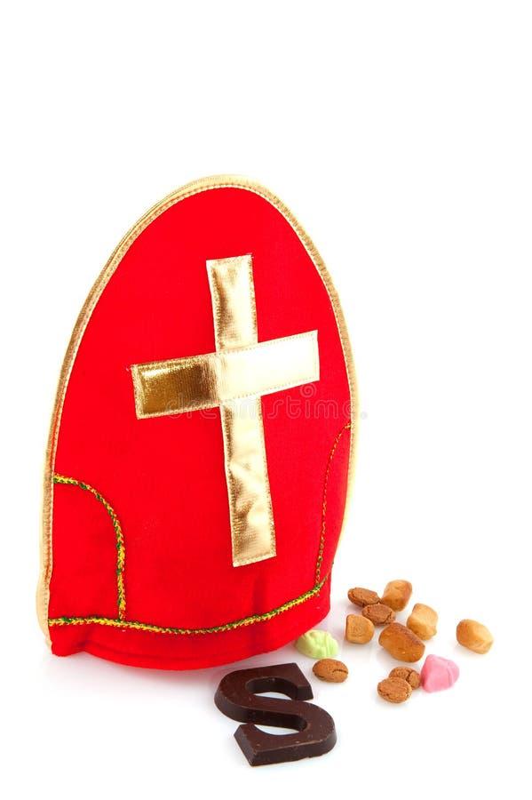 Inglete de Sinterklaas fotografía de archivo libre de regalías