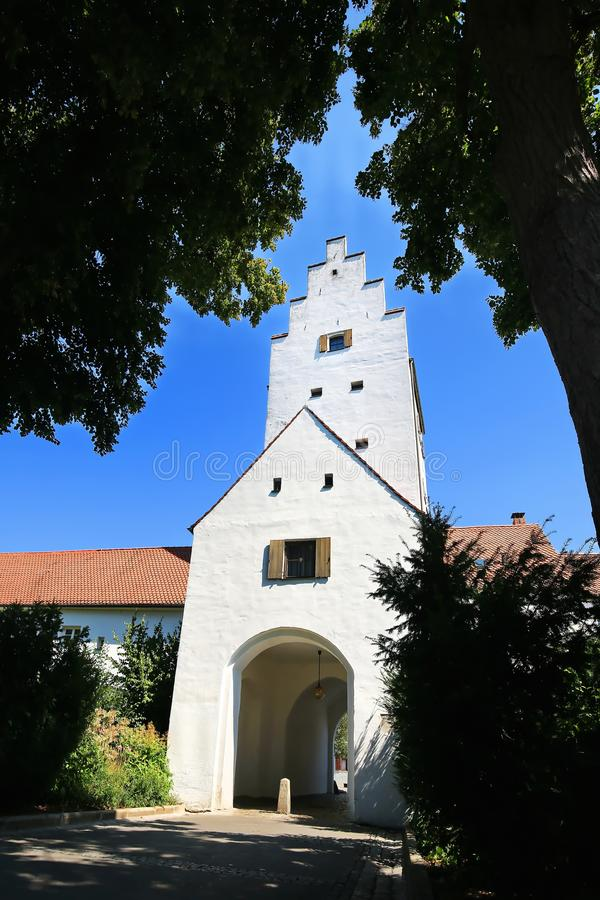 Ingolstadt är en stad i Bayern/Tyskland royaltyfria foton