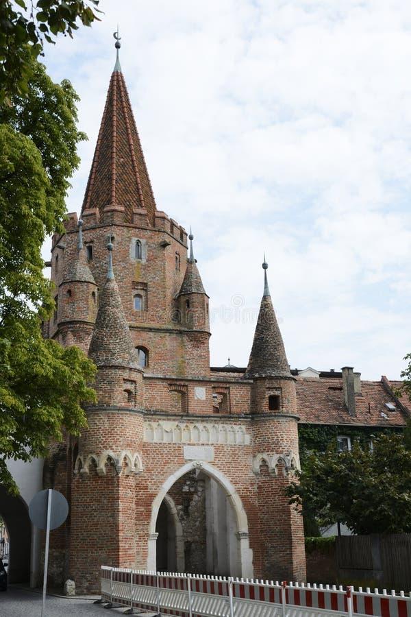 Ingolstadt stadsport royaltyfria foton