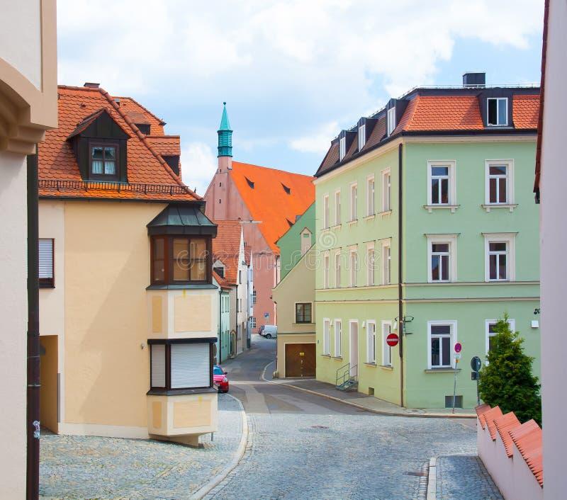 Ingolstadt.street royaltyfri foto