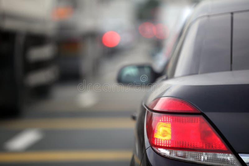 Ingorgo stradale immagine stock libera da diritti