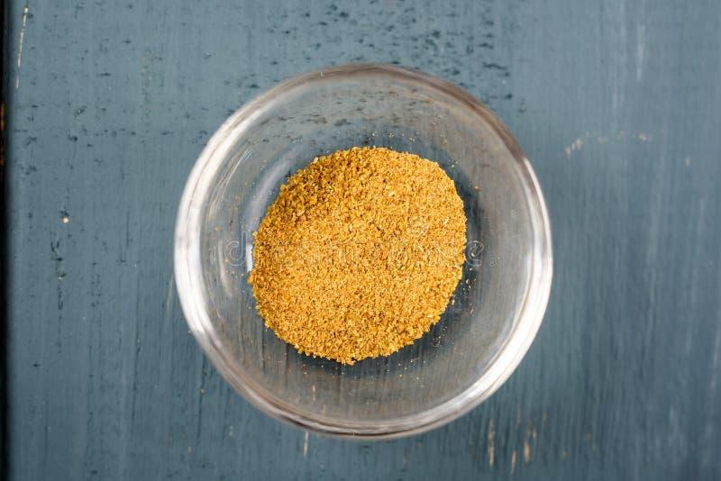 Ingrédient de nourriture de cyminum de Cuminum de cumin dans la cuvette photo libre de droits