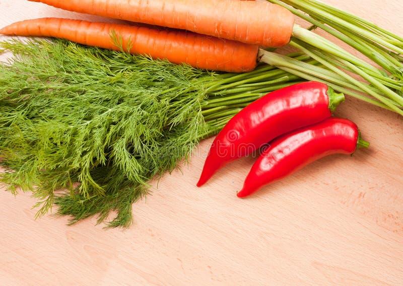 Ingrédients crus frais sains. image libre de droits