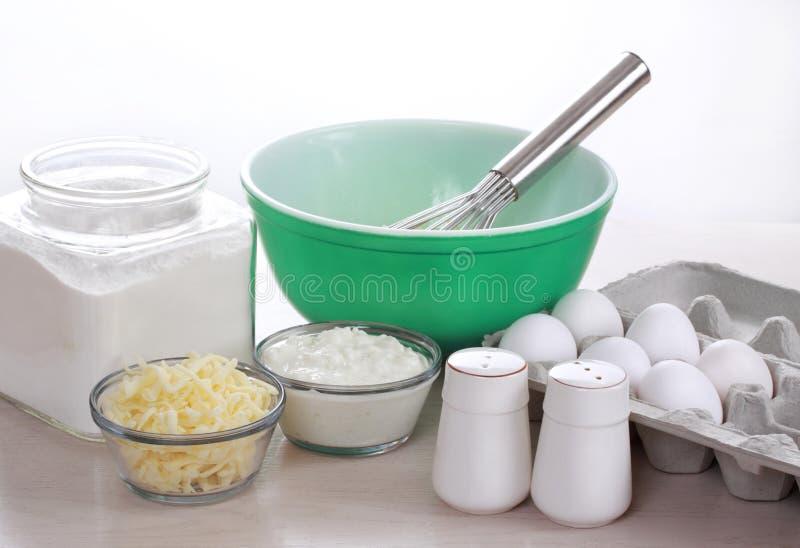 Ingrédients de nourriture photo stock