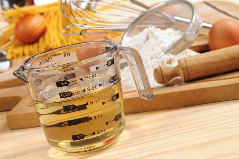 Ingrédients de spaghetti. image stock