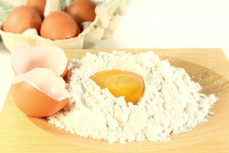 Ingrédients frais de boulangerie photo libre de droits