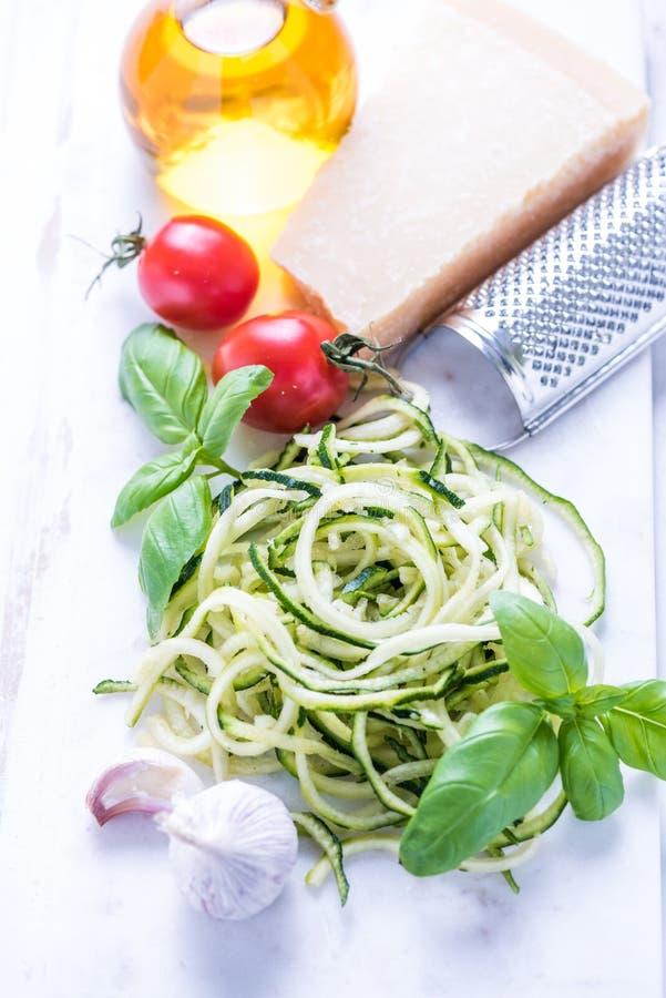 Ingrédients pour la nourriture diététique image stock