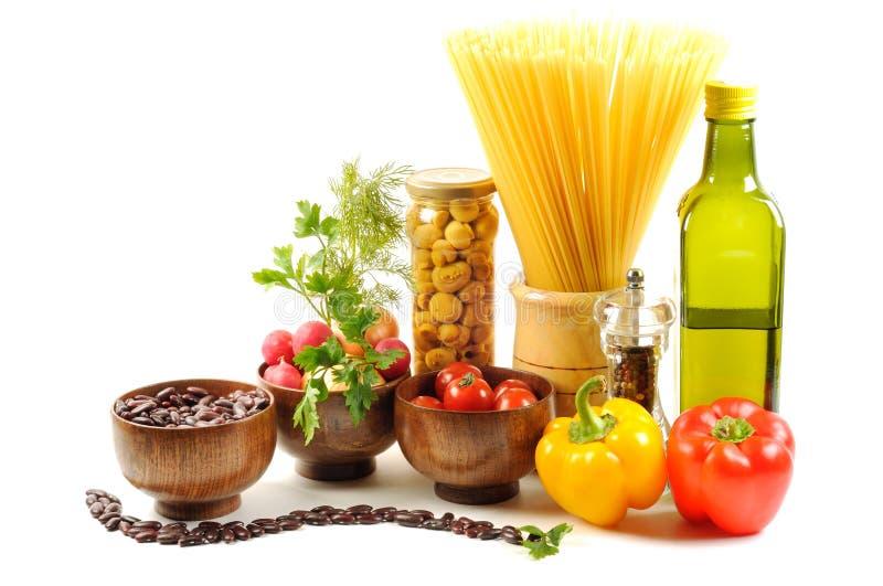 Ingrédients sains image stock