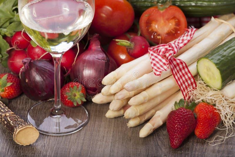 Ingrédients végétaux image libre de droits