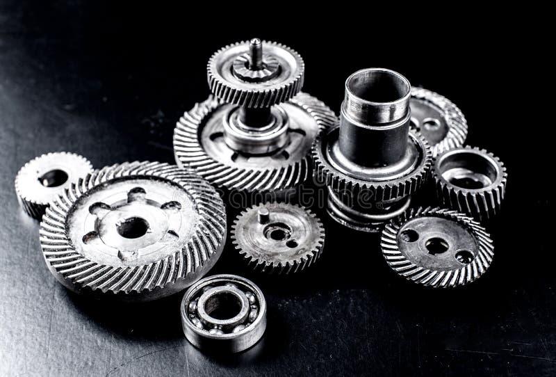 Ingranaggi del metallo fotografia stock libera da diritti