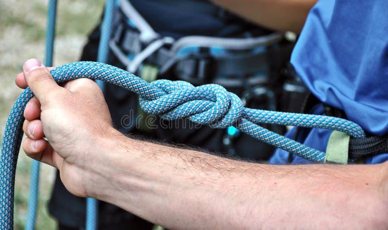 Ingranaggio di arrampicata fotografie stock libere da diritti