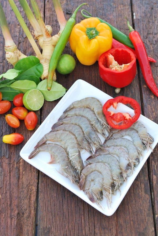 Ingrediënten voor de keuken van Thai royalty-vrije stock foto