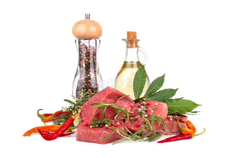 Ingrediënten voor het koken stock afbeeldingen