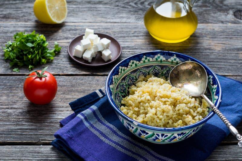 Ingrediënten voor Salade royalty-vrije stock fotografie