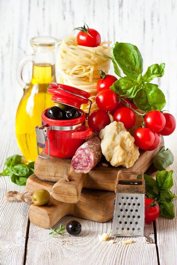 ingredienser arkivfoto