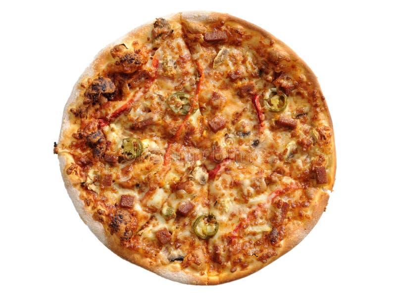 ingrediensitalienarepizza fotografering för bildbyråer