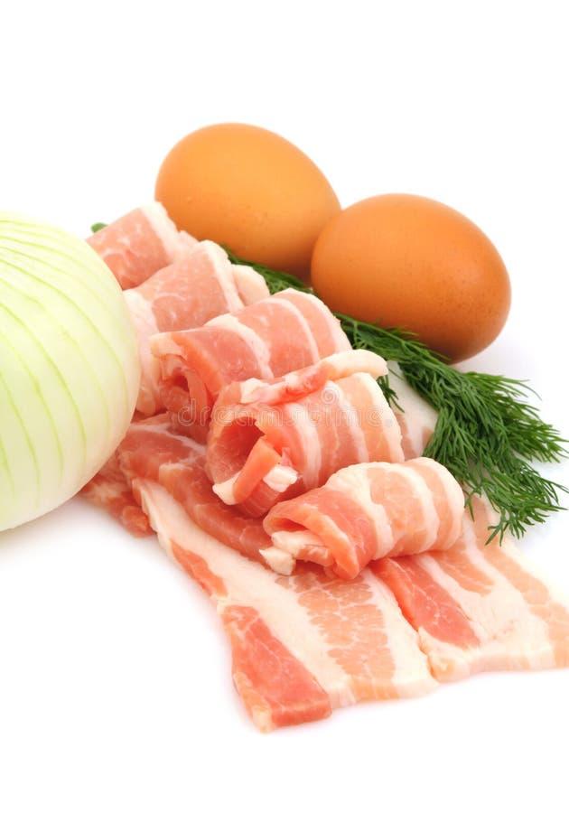 Ingrediente di alimento per la prima colazione immagine stock