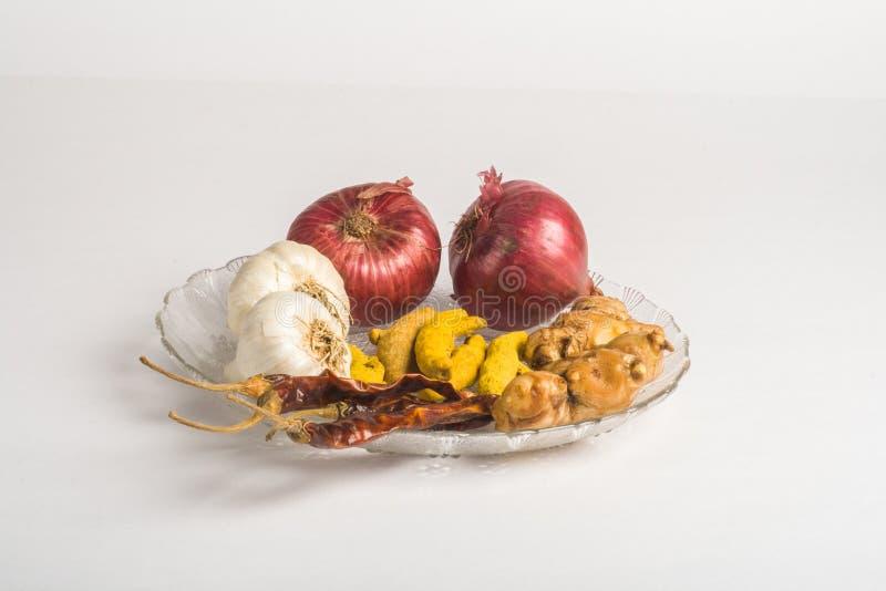 Ingredientes alimentarios básicos imágenes de archivo libres de regalías