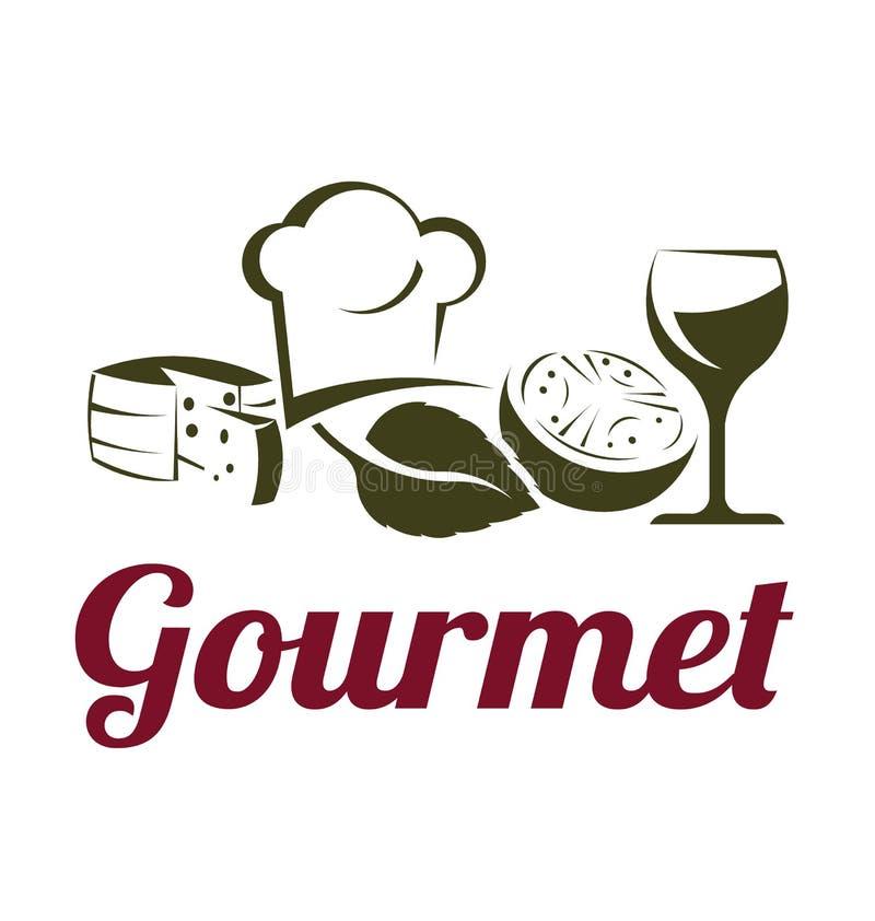 Culinária do gourmet ilustração royalty free