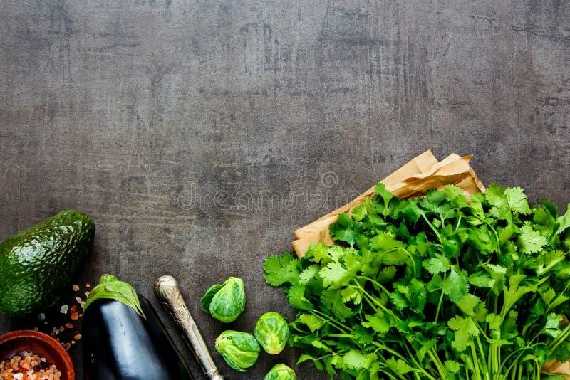 Ingredientes orgánicos frescos imagenes de archivo