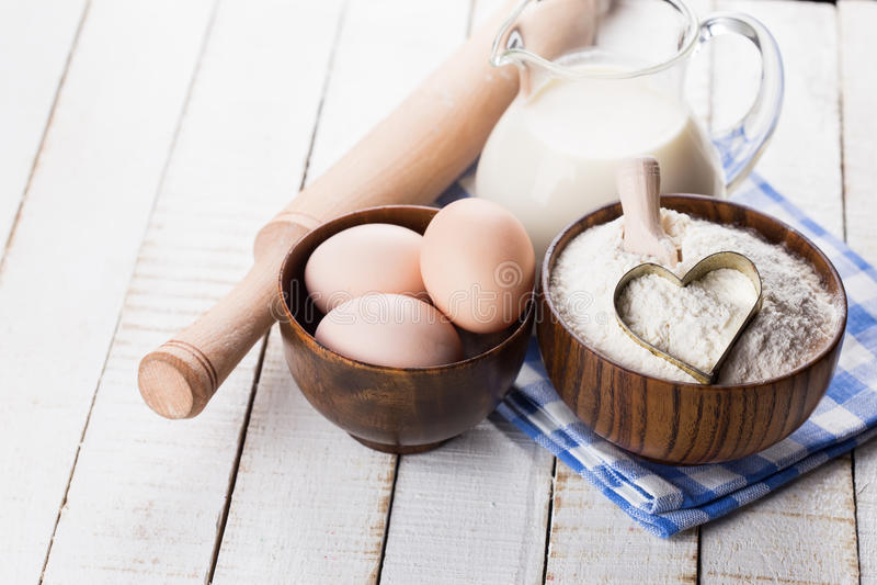 Ingredientes para cocer. foto de archivo libre de regalías