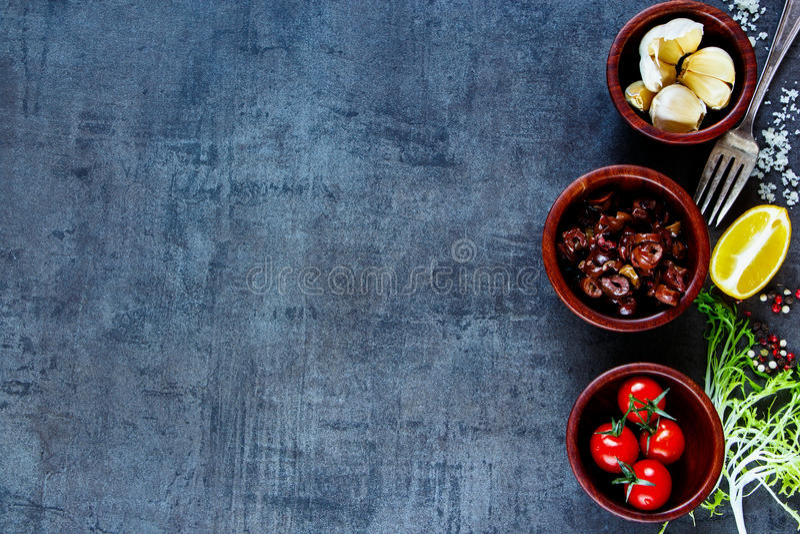 Ingredientes para cozinhar fotos de stock royalty free