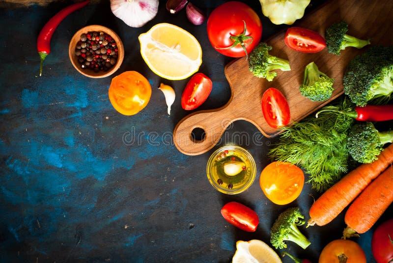 Ingredientes para cozinhar fotografia de stock royalty free