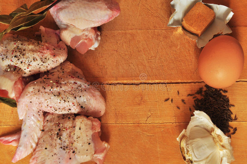 Download Prato da galinha foto de stock. Imagem de placa, garlic - 29844388