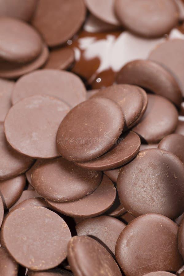 Ingredientes para la preparación del chocolate artesanal fotografía de archivo
