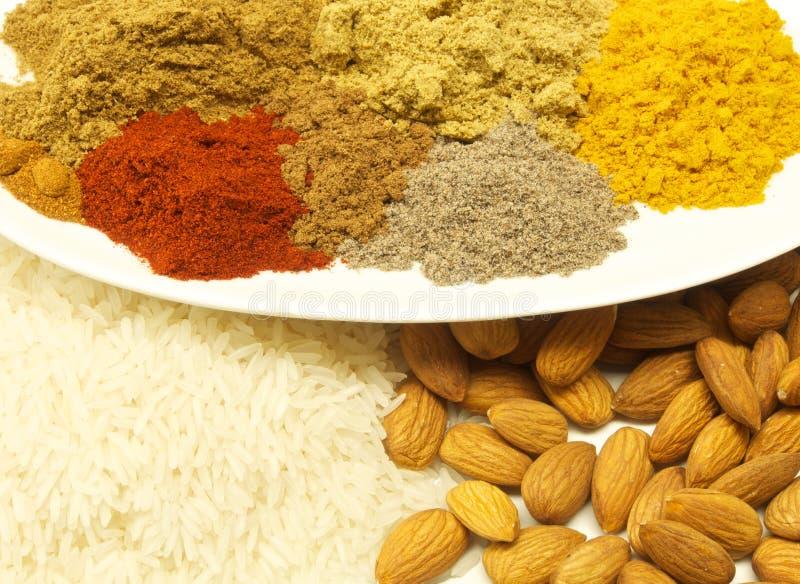Ingredientes picantes foto de stock royalty free