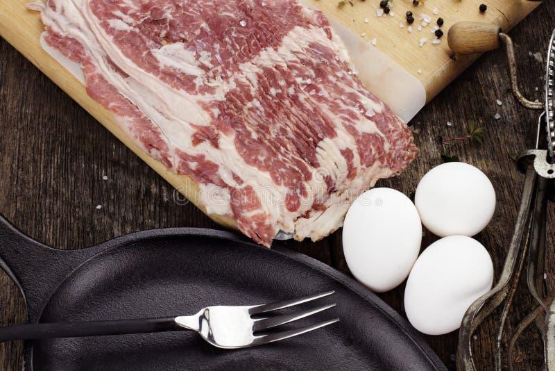 Ingredienti della prima colazione fotografie stock