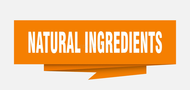 Ingredienti naturali royalty illustrazione gratis