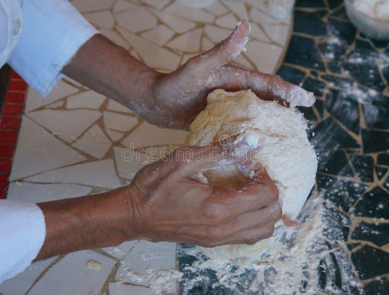 Ingredienti per produrre pane fotografie stock