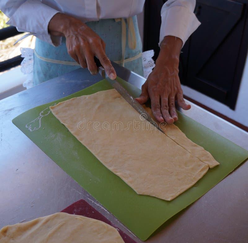 Ingredienti per produrre pane immagini stock libere da diritti