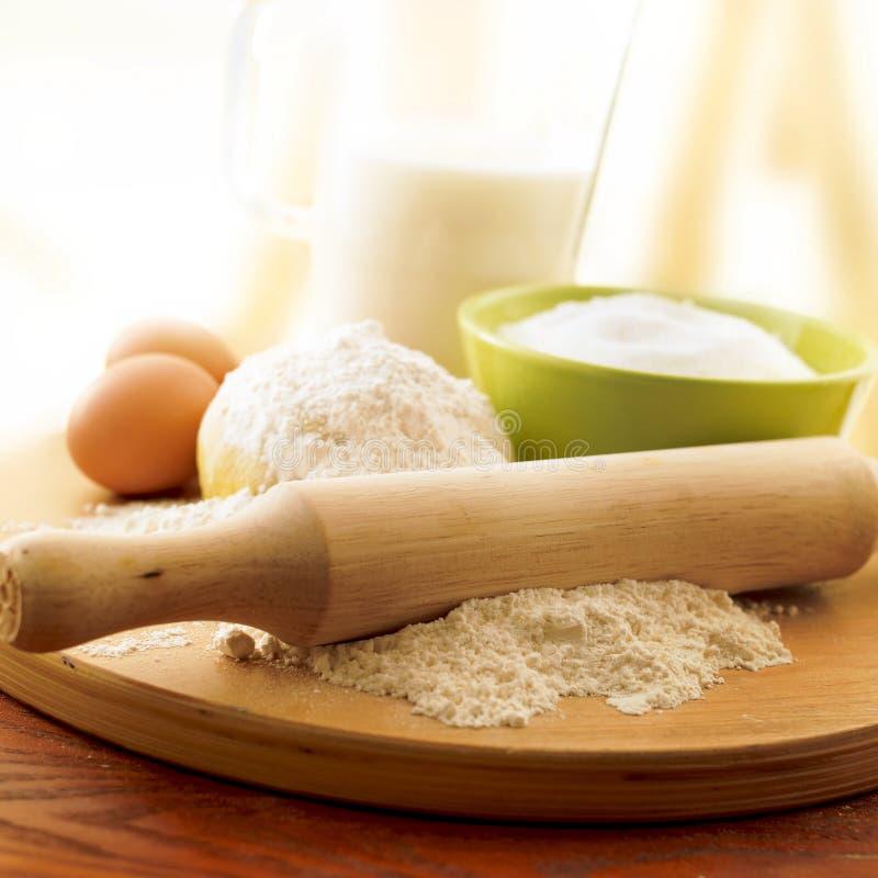 Download Ingredients of cake stock image. Image of ingredient - 21059235