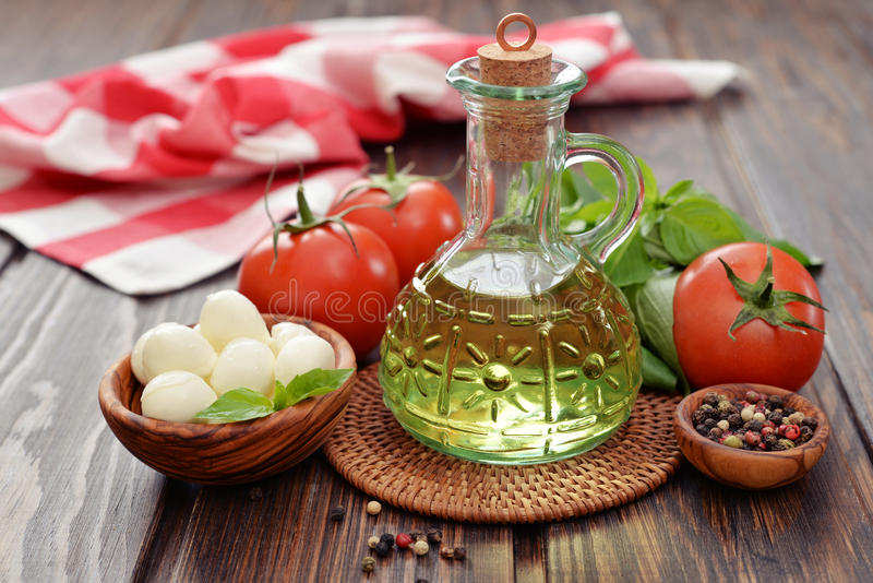 Download Ingredients For Caprese  Salad Stock Image - Image: 39174391