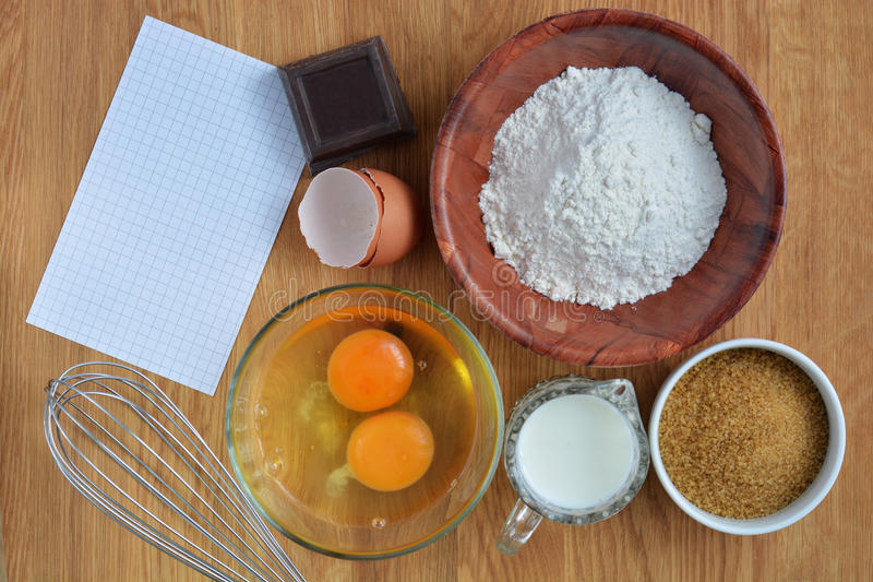 Ingredients for making a cake stock photo image of for What are the ingredients for making cake