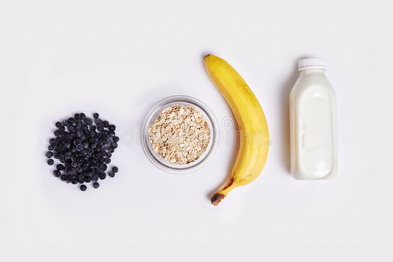 Ingredients for smoothie royalty free stock photo