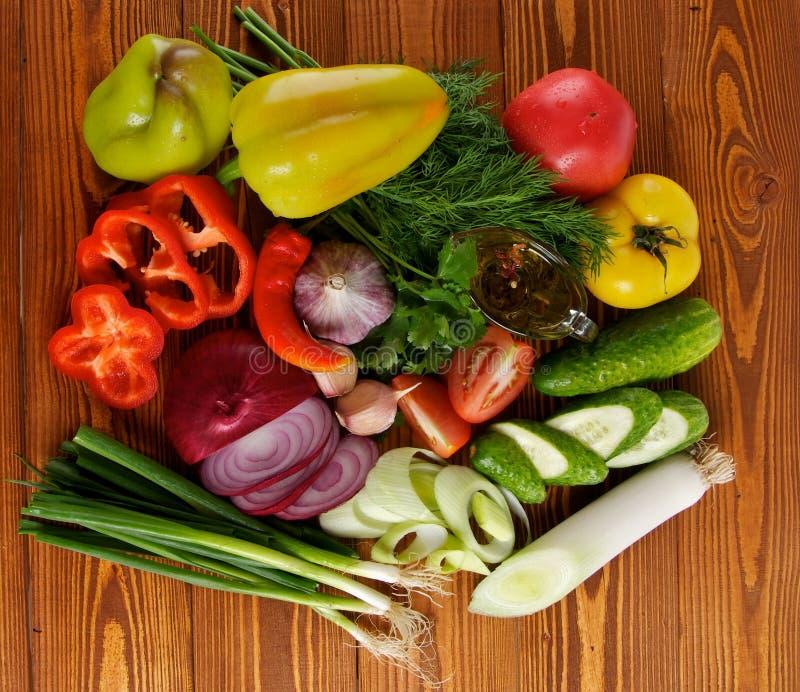 Download Ingredients Of Vegetable Salad Stock Image - Image of chili, market: 26645127