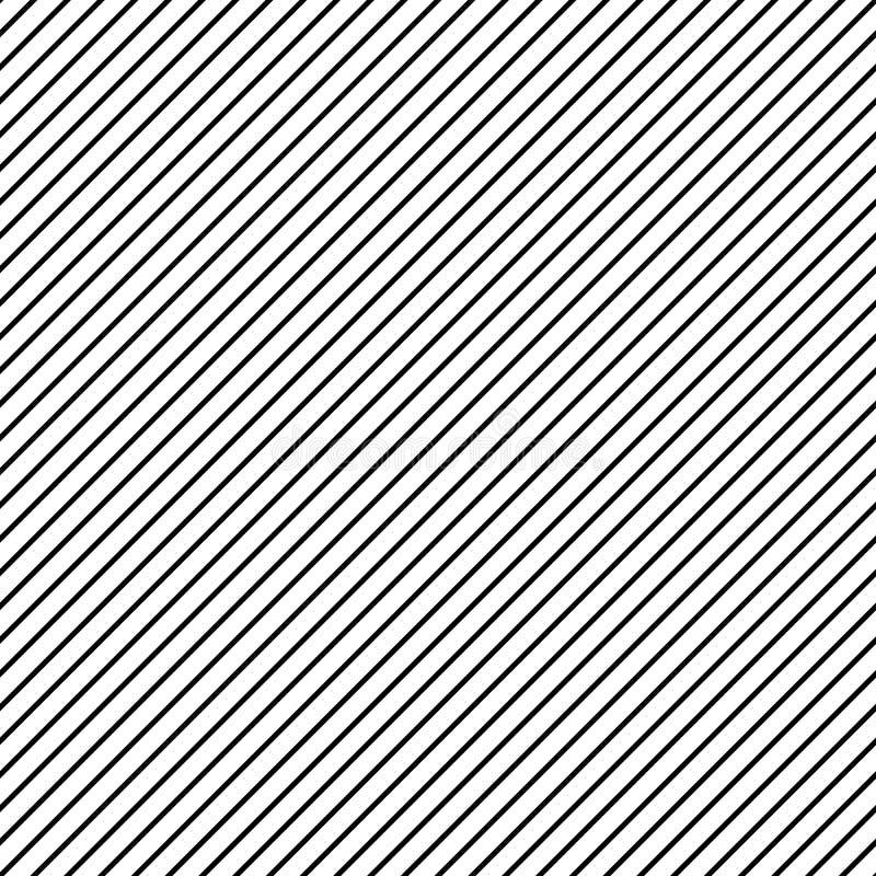 Ingrepp av linjer repeatable modell Enkel geometrisk textur med royaltyfri illustrationer
