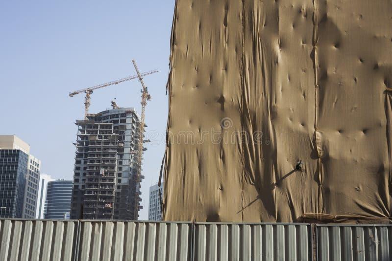 Ingrepp f?r skydd i konstruktionsbransch arkivfoton