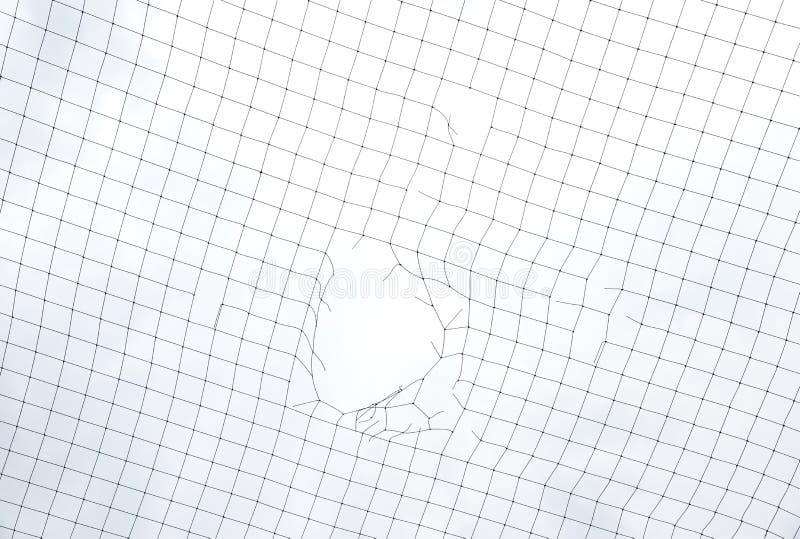 Ingrepp som förtjänar med hålet på himmelbakgrund royaltyfri foto